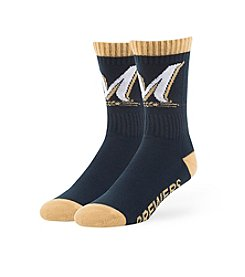 MLB® Milwaukee Brewers Men's Bolt Socks