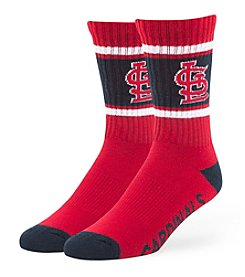 MLB® St. Louis Cardinals Men's Duster Socks
