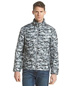 32Degrees Weatherproof Men's Patterned Packable Down Print Jacket