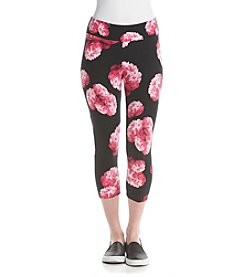 Marc New York Performance Peony Printed Crop Leggings
