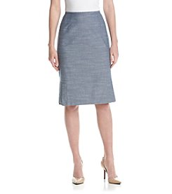 Kasper® Pleated Hem Skirt