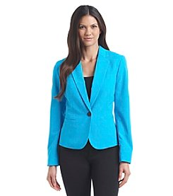 Nine West® One Button Blazer
