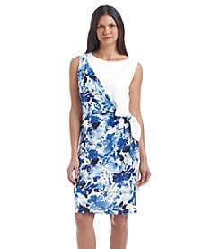 Nine West® Sleeveless Ponte Combo Dress