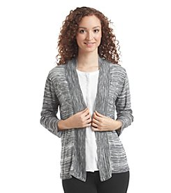 Notations® Marled Cardigan