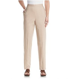 Alfred Dunner® Feels Like Spring Pull On Pants