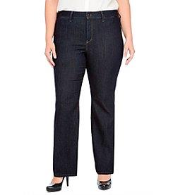 NYDJ® Plus Size Isabella Wide Leg Jeans