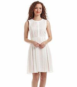 Tommy Hilfiger® Harlequin Embroidered Dress