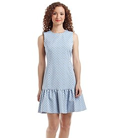 Tommy Hilfiger® Dot Dropwaist Dress