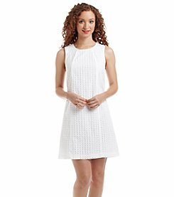 Tommy Hilfiger® Eyelet Shift Dress