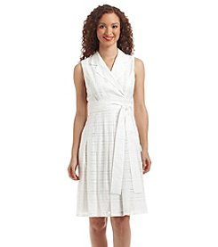 Tommy Hilfiger® Plaid Fit And Flare Dress