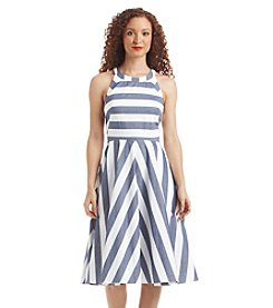 Eliza J® Striped Halter Dress