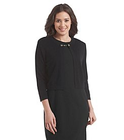 Calvin Klein Quarter Sleeve Sweater Shrug