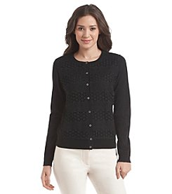 Vince Camuto® Long Sleeve Lace Cardigan