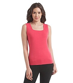 Kasper® Sleeveless Sweater Top