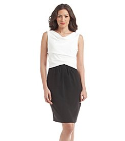 Nine West® Sleeveless Light Weight Contrast Dress