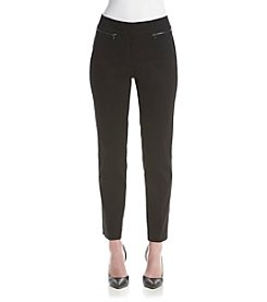 Nine West® Zipper Pocket Skinny Pants