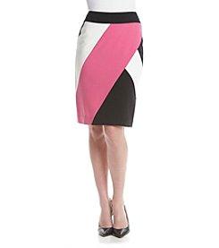 Nine West® Color Block Skirt