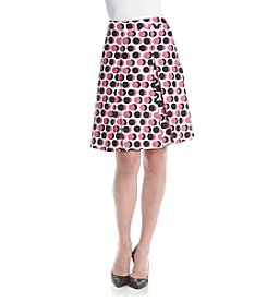 Nine West® Polka Dot Skirt