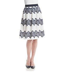 Nine West® Flowy Lace Skirt