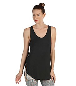 Karen Kane® Sleeveless Mesh Back Top