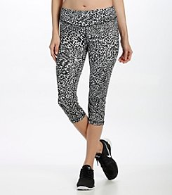 Karen Kane® Cheetah Print Active Crop Leggings