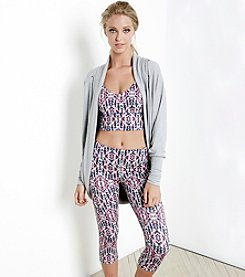 Karen Kane® Multi Print Active Crop Leggings