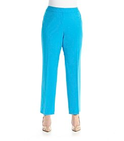 Nine West® Plus Size Solid Dress Pants