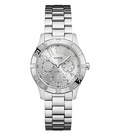 GUESS Women's Silvertone Essence Classic Watch