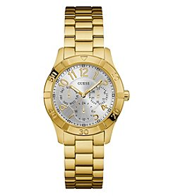 GUESS Women's Goldtone Essence Classic Watch