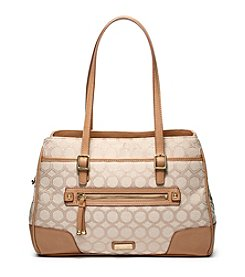 Nine West® 9 Jacquard Satchel