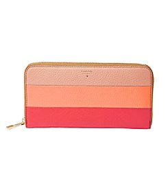 Fossil® Sydney Patchwork Leather Zip Clutch