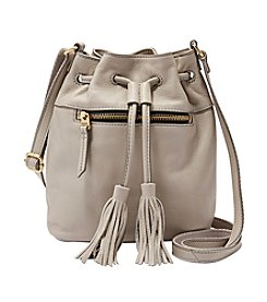 Fossil® Jules Mini Leather Drawstring Satchel with Tassle