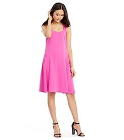 Lauren Ralph Lauren® Petites' Crepe A-Line Dress