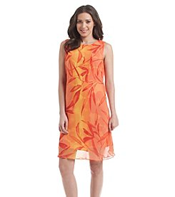 Jessica Howard® Keyhole A-Line Floral Dress