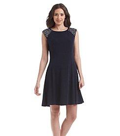Jessica Howard® Sequin Sleeve Dress