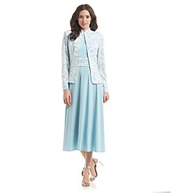 Jessica Howard® Lace Jacket Dress