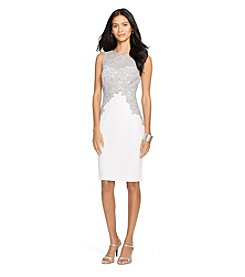 Lauren Ralph Lauren® Lace Crepe Dress