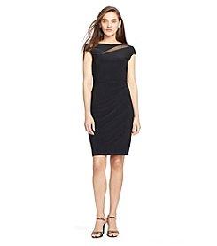 Lauren Ralph Lauren® Mesh-Insert Jersey Dress