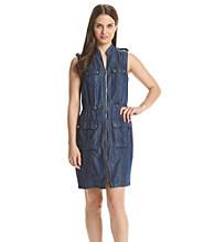 Tommy Hilfiger® Denim Zip Dress