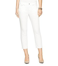 Lauren Jeans Co.® White-Wash Jeans
