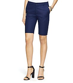 Lauren Ralph Lauren® Stretch Cotton Shorts