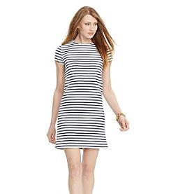 Lauren Ralph Lauren® Striped Stretch Tee Dress