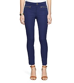 Lauren Ralph Lauren® Zip-Pocket Skinny Pants