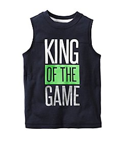 Carter's® Boys' 2T-7 King Of The Game Printed Tee