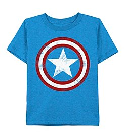 Marvel® Boys' 8-20 Captain America® Shield Tee