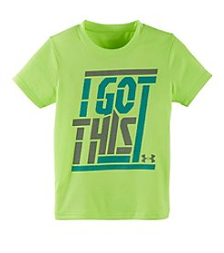 Under Armour® Boys' 4-7 Short Sleeve Got This Tee