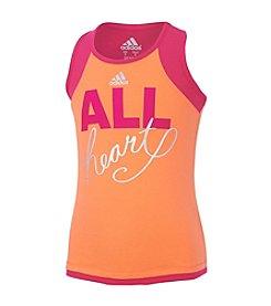 adidas® Girls' 2T-6X Training Tank