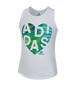 adidas® Girls' 2T-6X Tempo Tank
