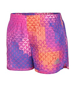 adidas® Girls' 2T-6X Run For Fun Shorts