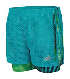 adidas® Girls' 2T-6X Double Dutch Shorts